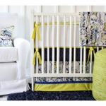 Caden Lane Ikat Circus Boy 2 Piece Crib Set (Limited Edition)