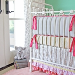 Caden Lane Lacey Rose 2 Piece Crib Set (Limited Edition)
