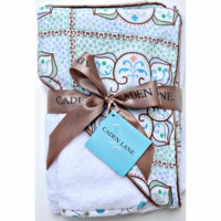 Caden Lane Modern Hooded Towel Sets