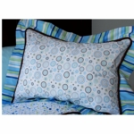 Caden Lane Standard Sham in Classic Blue