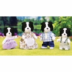 Calico Critters Border Collie Family