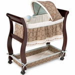 Carter's Animal Parade Wood Bassinet by Summer Infant