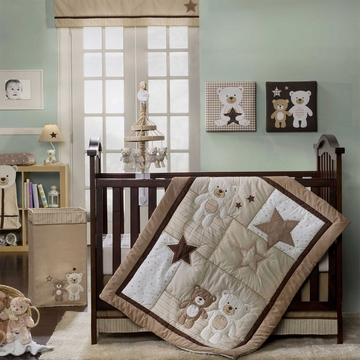 Carter's Baby Bear 4 Piece Crib Set