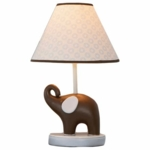Carter's Blue Elephant Lamp Base and Shade