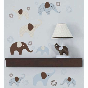 Carter's Blue Elephant Wall Decals