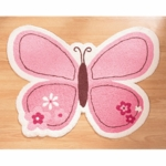 Carter's Butterfly Flowers Rug