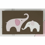 Carter's Elephant Pink Wall Art
