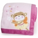 Carter's Fairy Monkey Embroidered Boa Blanket