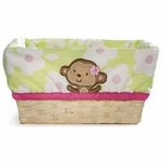 Carter's Jungle Jill Basket with Liner