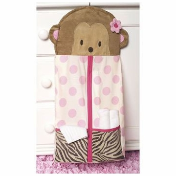 Carter's Jungle Jill Diaper Stacker