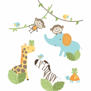 Carter's Jungle Play Wall Decals