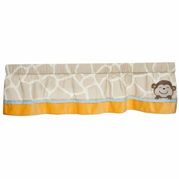 Carter's Jungle Play Window Valance