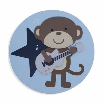 Carter's Monkey Rockstar Wall Decals