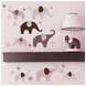 Carter's Pink Elephant Wall Decals