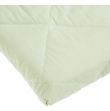 Carter's Quilted Playard Fitted Sheet - Sage