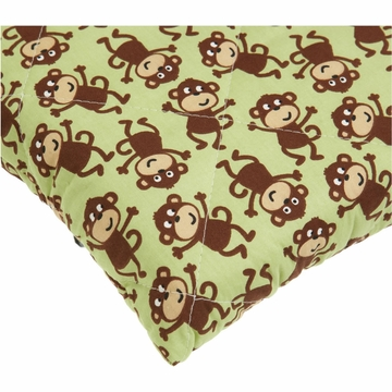 Carter's Quilted Playard Sheet - Monkey