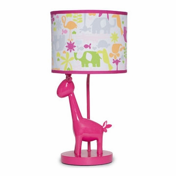 Carter's Safari Brights Lamp Base & Shade