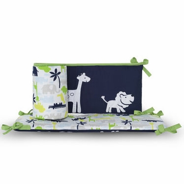 Carter's Safari Sky Crib Bumper