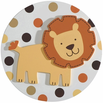 Carter's Sunny Safari 3D Wall Art
