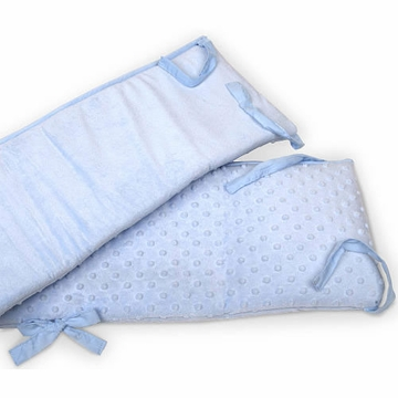 Carter's Super Soft Crib Bumper- Blue