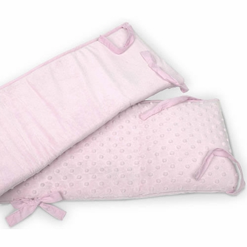 Carter's Super Soft Crib Bumper- Pink