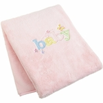 Carter's Sweet Baby Blanket in Pink