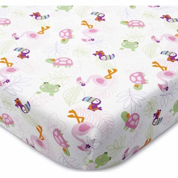 Carter's Tropical Garden Fitted Sheet