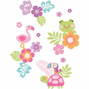 Carter's Tropical Garden Wall Decals