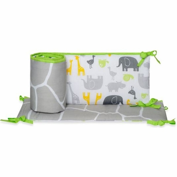 Carter's Zoo Animals Crib Bumper