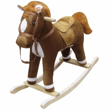"Charm Company ""Coffee"" Horse Rocker"