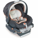 Chicco 2007 Key Fit Infant Car Seat and Base in Iceberg