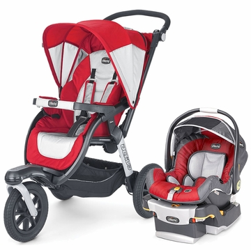 Chicco Activ3 Travel System - Snap Dragon