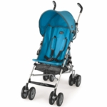 Chicco C6 Comfort Travel Stroller in Topazio Blue
