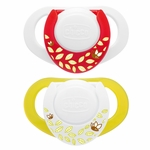 Chicco Hard Shield Orthodontic Pacifiers - Neutral - 0M+