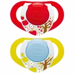 Chicco Hard Shield Orthodontic Pacifiers - Neutral - 12M+