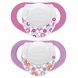 Chicco Hard Shield Orthodontic Pacifiers - Pink - 4M+