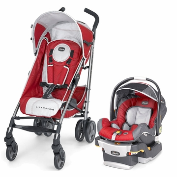 Chicco Liteway Plus Travel System - Snap Dragon