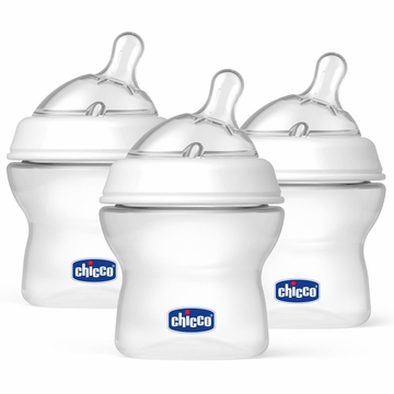 Chicco NaturalFit 5 oz Bottles 3-Pack - 0M+