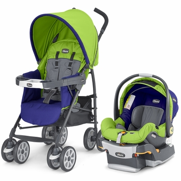 Chicco Neuvo Compact Travel System - Tropic