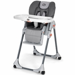 Chicco Polly Double-Pad Highchair - Graphica