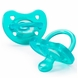 Chicco Soft Silicone Orthodontic Pacifiers - Blue - 12M+