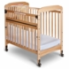 Child Craft Bella SafeAccess Compact Mirror Crib in Natural