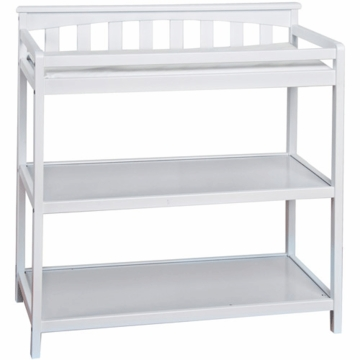 Child Craft Flat Top Changing Table in Matte White