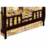 Child Craft 4-in-1 Convertible Crib Toddler Guard Rail - Espresso