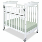 Child Craft Kingswood SafeAccess Compact Clearview Crib in White