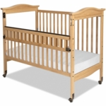 Child Craft Kingswood SafeAccess Full-Size Clearview Crib in Natural