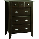 Child Craft Shoal Creek 4 Drawer Chest in Jamocha