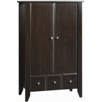 Child Craft Shoal Creek Armoire in Jamocha