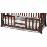 Child Craft Toddler Guard Rails for Logan, Monterey & Parisian Cribs -  Select Cherry