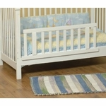 Child Craft Toddler Guard Rail for Traditional Crib in Matte White